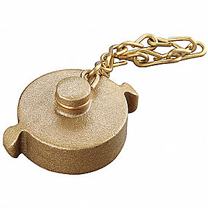 Fire Hydrant Rocker Lug Cap w/Chain, Caps Fittings Sub-Category, NPSH Female Connection Type, Size 1