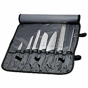 KNIFE ROLL SET,8 PIECE
