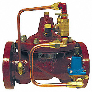 "Flanged Full Port Pressure Reducing Control Valve, 2"" Pipe Size"