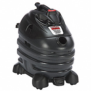 10 gal. Portable 6-1/2 Wet/Dry Vacuum, 12 Amps, Standard Filter Type