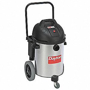 10 gal. Commercial 3 HP Wet/Dry Vacuum, 11.5 Amps, HEPA Filter Type