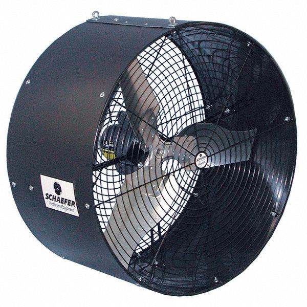 Ceiling Air Circulator : Schaefer quot industrial ceiling mounted air circulator