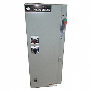 120VAC No NEMA Circuit Breaker Combination Starter, Enclosure NEMA Rating 12, 18 Amps AC