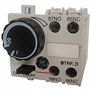 1.00 sec. to 60.00 sec. Off Delay IEC Timer Module