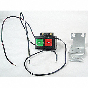 Push Button Kit, NEMA Rating: 1, For Use With Starter/Contactor