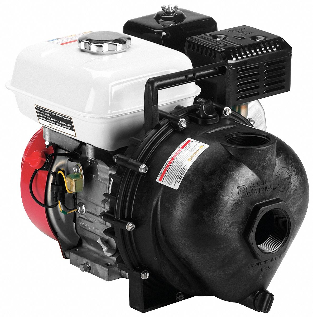 Engine Driven Utility Pump,  Engine Size 160 cc,  Discharge 2 in FNPT