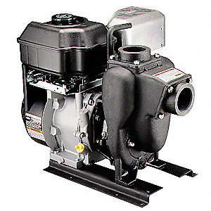 3.5 HP Cast Iron 127cc Engine Driven Centrifugal Pump, 3 qt. Tank Capacity