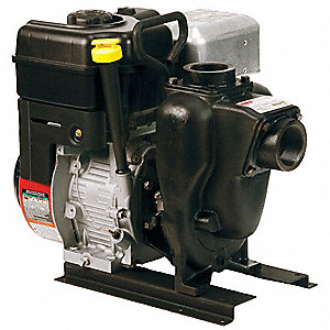 6.5 HP Cast Iron 208cc Engine Driven Centrifugal Pump, 4 qt. Tank Capacity