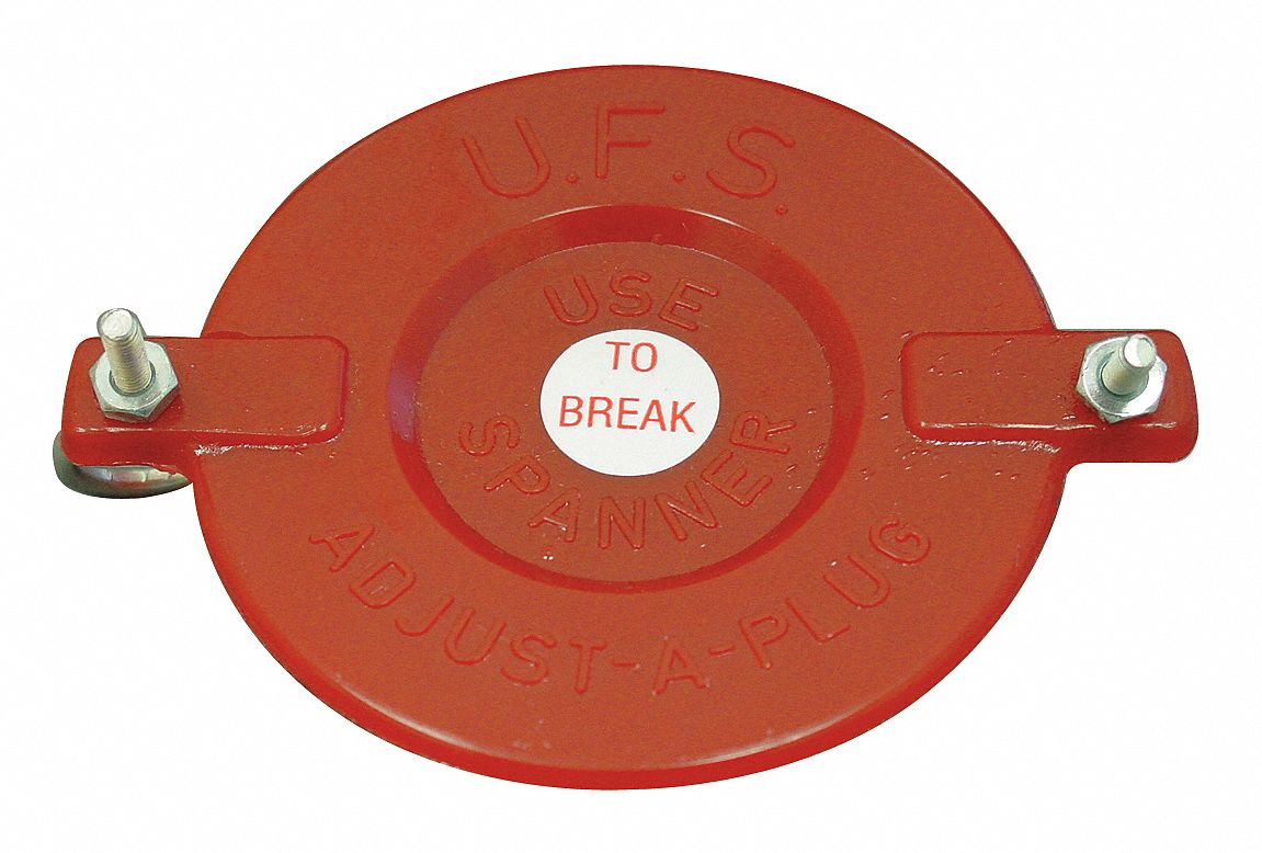 Hydrant Cap,  Hex,  Material Plastic,  Breakable Yes,  Red