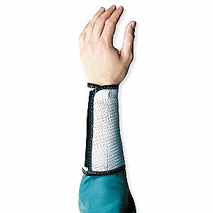 Cut Resistant Arm Guard,M,9 In. L,PR