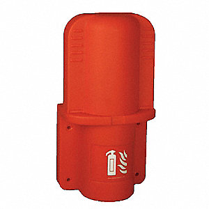FIRE EXTINGUISHER CABINET,5 LB,RED