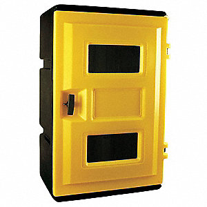 SAFETY CABINET,SCBA,H 27-1/2,W 21-1