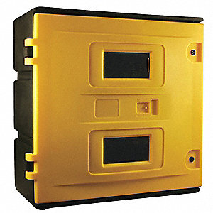 Safety Cabinet,SCBA,H 35-1/2,W 35-1/2