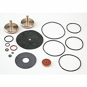 Backflow Preventer Repair Kit, For Use With Watts Series 009 M1, 1-1/4 to 2""