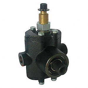 500 psi Twin-Piston Pump with Liquid Injector, 2.2 gpm, Hollow Shaft Type