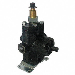 1000 psi Twin-Piston Pump with Liquid Injector, 2.2 gpm, Solid Shaft Type