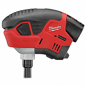 "Cordless Palm Nailer Kit, Voltage 12.0 Li-Ion, Battery Included, Fastener Range 1"" to 3-1/2"""