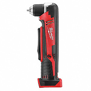 "3/8"" M18  Cordless Right Angle Drill, 18.0 Voltage, Bare Tool"