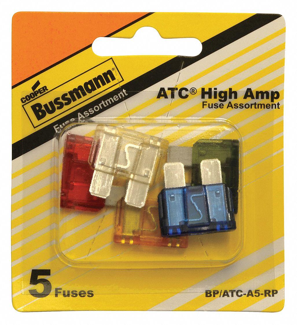 Bussman BP//ATC-15 RP 15 Amp Blade Fuses 5 Count