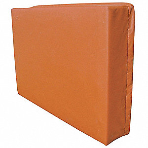 Exterior AC Cover,Fleece/Vinyl,Brick