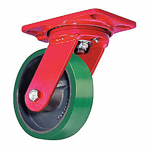 "4"" Light-Medium Duty  Swivel Plate Caster, 750 lb. Load Rating"