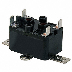 Enclosed Fan Relay,SPNO,24V