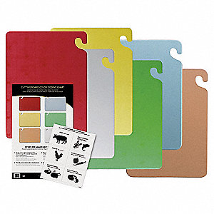 Cutting Board Set,Includes 6 Boards