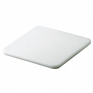 "6"" x 9"" Co-Polymer Cutting Board, White"