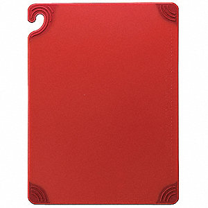 "18"" x 24"" Co-Polymer Cutting Board, Red"