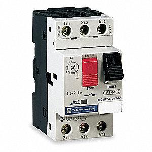 Telemecanique sensors iec motor starter 6b163 gv2m06 for Schneider motor starter selection guide