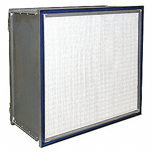 24x24x11-1/2 Microfiber HEPA Air Filter 99.97% DOP Efficiency
