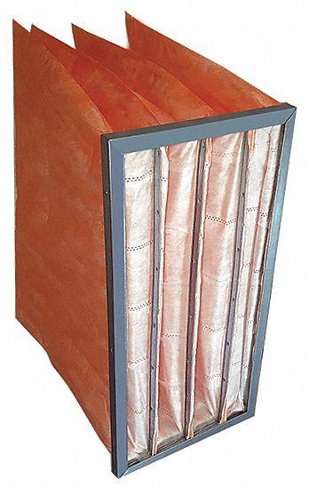 8 Pieces Min Qty 8 MERV 13 Fiberglass Pocket Air Filter 12x24x15