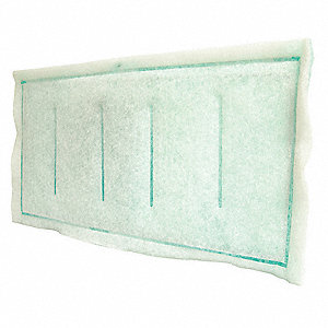 Three Ply Ring Panel Air Filter,12 In. W