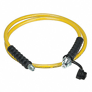 6 Ft. Thermoplastic High Pressure Hydraulic Hose Assembly