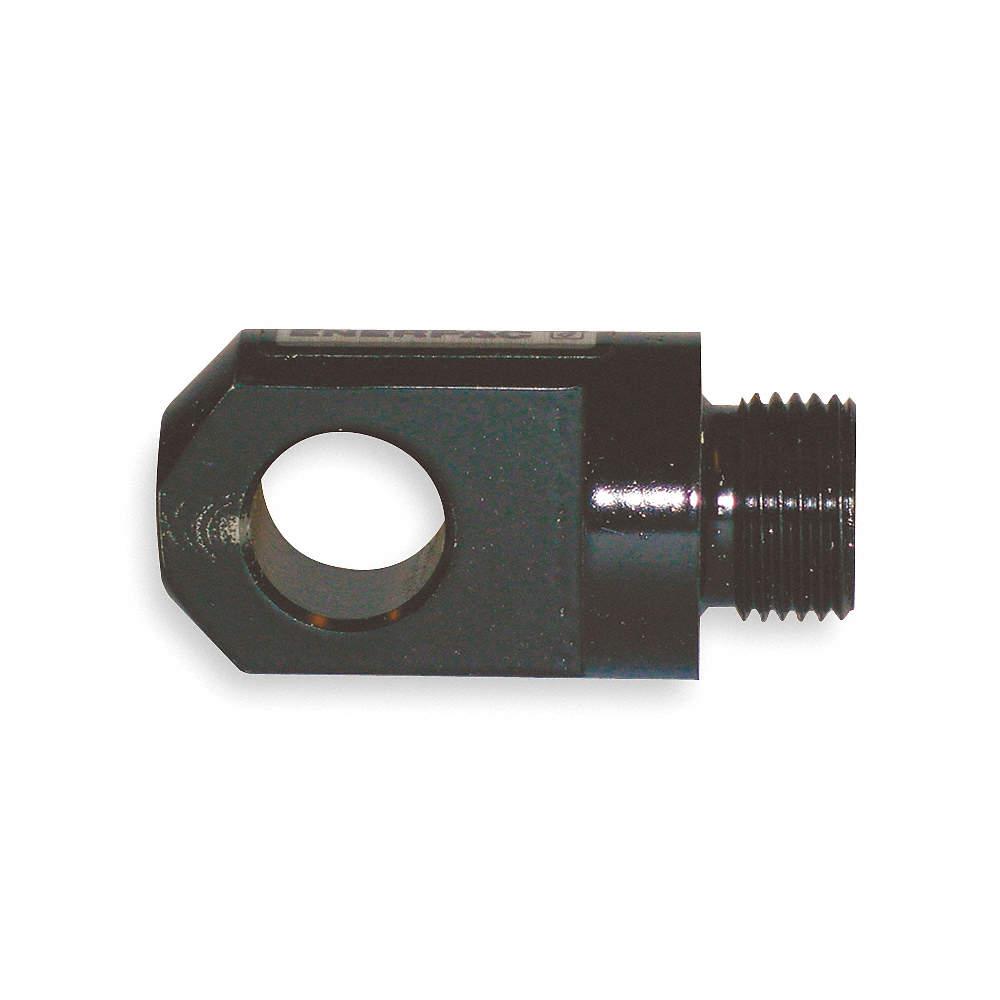 ENERPAC Steel Plunger High Force Cylinder Clevis Eye, Black Oxide ...