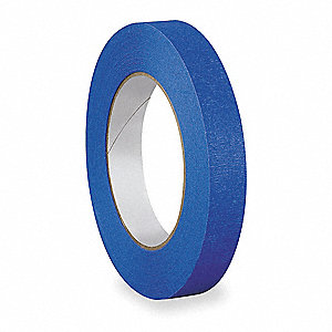 Painters Masking Tape, 54.8m x 18mm, Blue, 5.5 mil