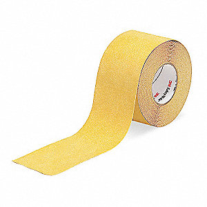 "60 ft. x 4"" Mineral Coated Antislip Tape, Safety Yellow"