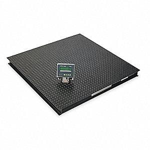 METTLER TOLEDO 5000 lb  Digital Floor Scale - 6BY76|XFS50S-XIF