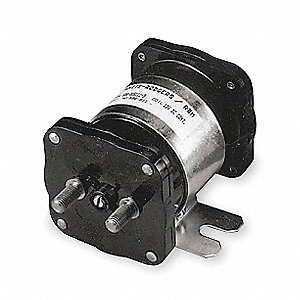 DC Power Solenoid, 36 Coil Voltage DC, 200/100 Amps, Duty Cycle: Continuous