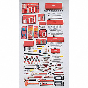 Metric Master Tool Set, Number of Pieces: 247, Primary Application: General Purpose