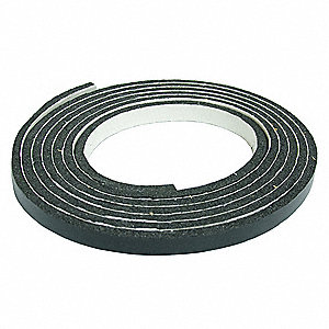 Air Filter Gasketing,50 Ft. L,Black