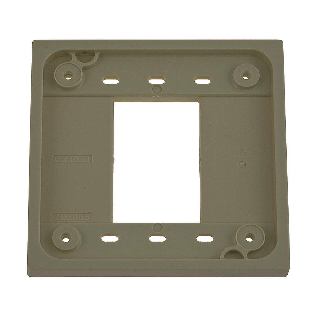 HUBBELL WIRING DEVICE-KELLEMS HBL4PB Box,4 Plex Portable