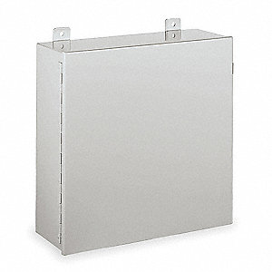 "24.00"" x 24.00"" x 9.00"" Carbon Steel Junction Box Enclosure"