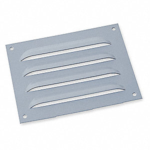 Louver Plate Kit,5.63 in. Hx7.5 in. W