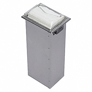 In-Counter Napkin Dispenser,Full Fold