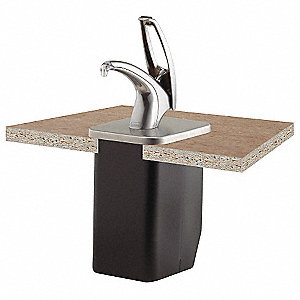 Condiment Pump with Box,Chrome