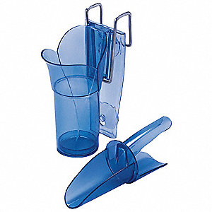 Ice Scoop and Holder,12 to 16 oz.