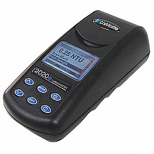 LCD Turbidity Meter, EPA with 0 to 4000 NTU Turbidity Range