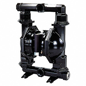 Aluminum PTFE Multiport Double Diaphragm Pump, 172 gpm, 120 psi