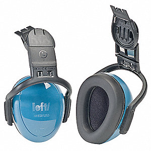 Blue Ear Muff, Noise Reduction Rating NRR: 25dB, Dielectric: Yes
